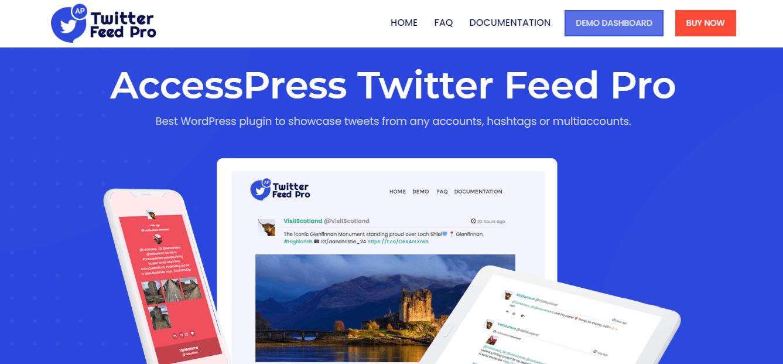 AccessPress Twitter Feed Pro WordPress Plugin