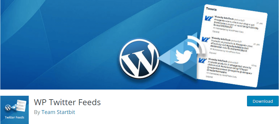 WP Twitter Feeds WordPress Plugin