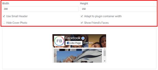 Facebook details